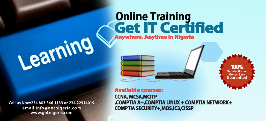 GNT Nigeria | I.T Certification Training | Web Solutions ...